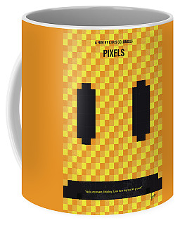 No703 My Pixels Minimal Movie Poster Coffee Mug