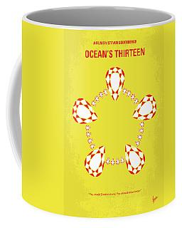 No706 My Oceans 13 Minimal Movie Poster Coffee Mug