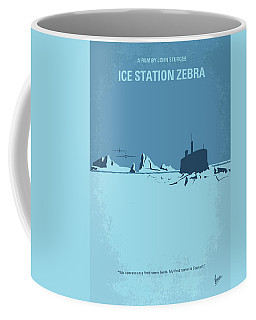 No711 My Ice Station Zebra Minimal Movie Poster Coffee Mug