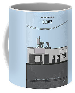 No715 My Clerks Minimal Movie Poster Coffee Mug