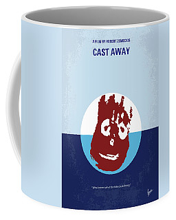 No718 My Cast Away Minimal Movie Poster Coffee Mug