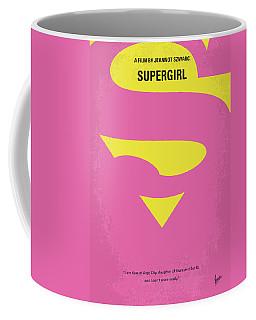 No720 My Supergirl Minimal Movie Poster Coffee Mug
