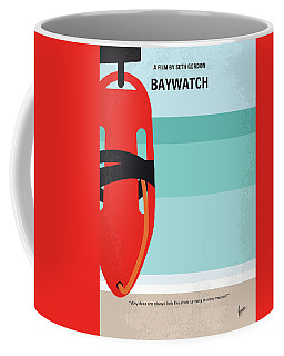 No730 My Baywatch Minimal Movie Poster Coffee Mug