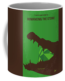 No732 My Romancing The Stone Minimal Movie Poster Coffee Mug