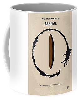 No735 My Arrival Minimal Movie Poster Coffee Mug