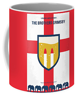 Coffee Mug featuring the digital art No741 My Grimsby Minimal Movie Poster by Chungkong Art