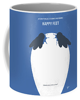 No744 My Happy Feet Minimal Movie Poster Coffee Mug