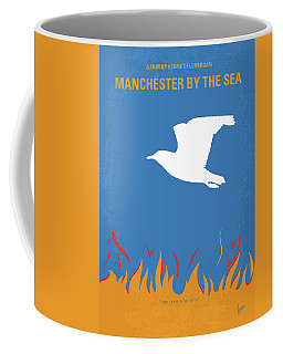 Coffee Mug featuring the digital art No753 My Manchester By The Sea Minimal Movie Poster by Chungkong Art