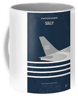 Coffee Mug featuring the digital art No754 My Sully Minimal Movie Poster by Chungkong Art
