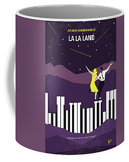 Coffee Mug featuring the digital art No756 My La La Land Minimal Movie Poster by Chungkong Art