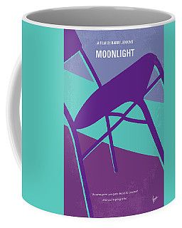 Coffee Mug featuring the digital art No757 My Moonlight Minimal Movie Poster by Chungkong Art