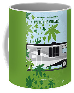 Coffee Mug featuring the digital art No763 My We Are The Millers Minimal Movie Poster by Chungkong Art