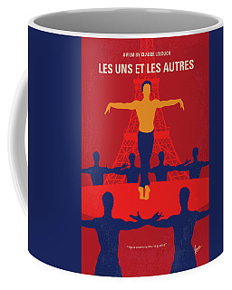 Coffee Mug featuring the digital art No771 My Les Uns Et Les Autres Minimal Movie Poster by Chungkong Art