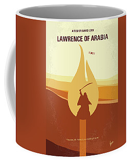 Coffee Mug featuring the digital art No772 My Lawrence Of Arabia Minimal Movie Poster by Chungkong Art