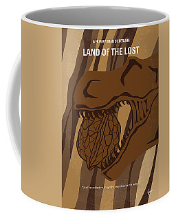 Coffee Mug featuring the digital art No773 My Land Of The Lost Minimal Movie Poster by Chungkong Art