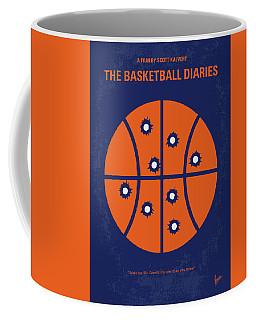 No782 My The Basketball Diaries Minimal Movie Poster Coffee Mug