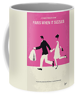No785 My Paris When It Sizzles Minimal Movie Poster Coffee Mug