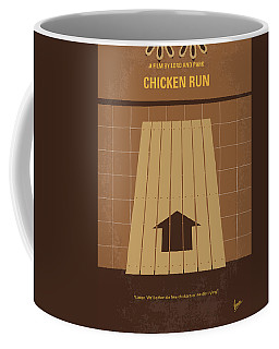 No789 My Chicken Run Minimal Movie Poster Coffee Mug