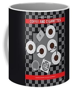 No808 My Coffee And Cigarettes Minimal Movie Poster Coffee Mug