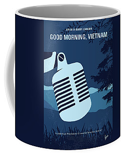 No811 My Good Morning Vietnam Minimal Movie Poster Coffee Mug