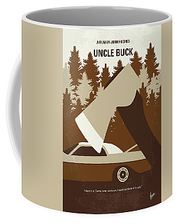No818 My Uncle Buck Minimal Movie Poster Coffee Mug