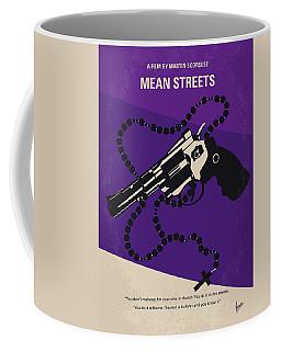No823 My Mean Streets Minimal Movie Poster Coffee Mug