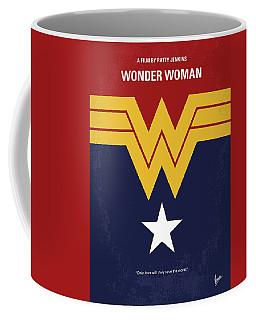 No825 My Wonder Woman Minimal Movie Poster Coffee Mug