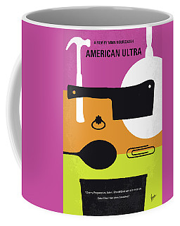 No827 My American Ultra Minimal Movie Poster Coffee Mug