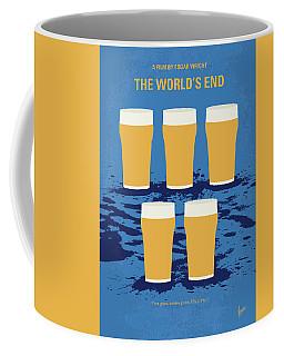 No843 My The Worlds End Minimal Movie Poster Coffee Mug