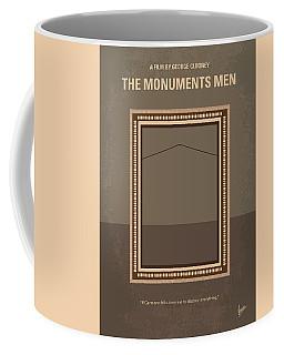 No845 My The Monuments Men Minimal Movie Poster Coffee Mug