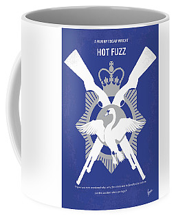 No847 My Hot Fuzz Minimal Movie Poster Coffee Mug