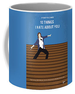 No850 My 10 Things I Hate About You Minimal Movie Poster Coffee Mug