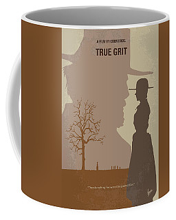 No860 My True Grit Minimal Movie Poster Coffee Mug