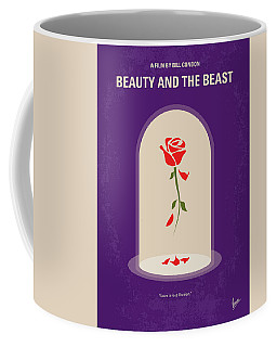 No878 My Beauty And The Beast Minimal Movie Poster Coffee Mug