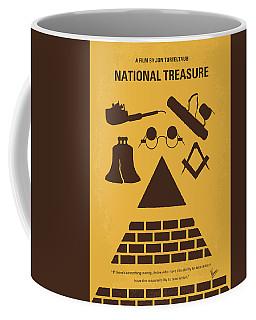 No887 My National Treasure Minimal Movie Poster Coffee Mug
