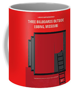 No900 My Three Billboards Minimal Movie Poster Coffee Mug