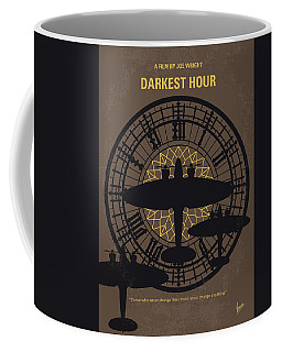 No901 My Darkest Hour Minimal Movie Poster Coffee Mug