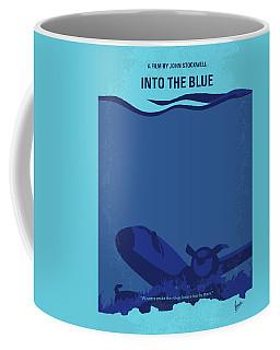 No912 My Into The Blue Minimal Movie Poster Coffee Mug