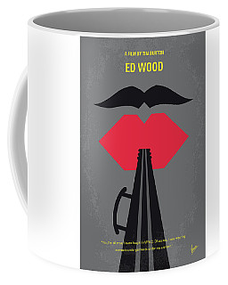 No924 My Ed Wood Minimal Movie Poster Coffee Mug
