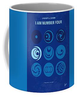 No937 My Am Number Four Minimal Movie Poster Coffee Mug