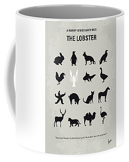 No939 My The Lobster Minimal Movie Poster Coffee Mug