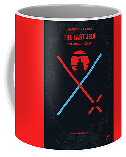 No940 My Star Wars Episode Viii The Last Jedi Minimal Movie Poster Coffee Mug