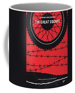 No958 My The Great Escape Minimal Movie Poster Coffee Mug