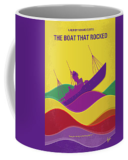 No961 My The Boat That Rocked Minimal Movie Poster Coffee Mug