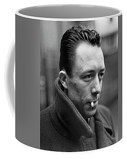 Nobel Prize Winning Writer Albert Camus Unknown Date #1 -2015 Coffee Mug