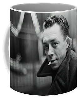 Nobel Prize Winning Writer Albert Camus Paris 1944 - 2015           Coffee Mug