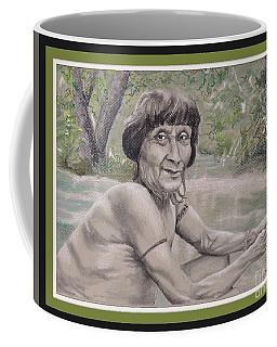 Noble Visage, Amazon Awa -- Portrait Of Old South American Tribal Man Coffee Mug