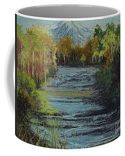 Nobody Knows What Happens In A Forest Coffee Mug