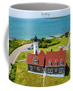 Coffee Mug featuring the photograph Nobska Light House  by Michael Hughes