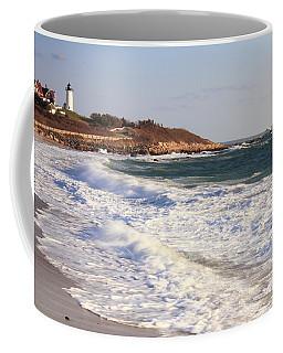 Nobska Point Seascape Coffee Mug